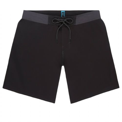 O'NEILL MENS SHORTS.SOLID FREAK 4 WAY STRETCH RECYCLED BLACK BOARDIES 9S 12/9010